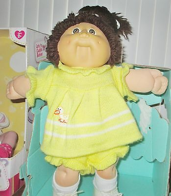 Nice Cabbage Patch IC3 Rare! Taiwan Cabbage Patch Doll! Brown Ponytail! 1978'