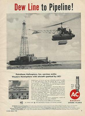 1958 Champion Ad/Petroleum Bell Helicopter