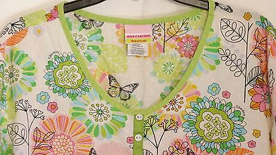 Skechers Medical Scrub Spring Top Size 2Xl