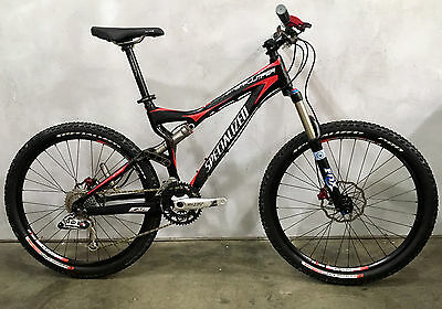 NEW! Specialized Stumpjumper FSR, Carbon/Red, size Small, 26in, S-WORKS
