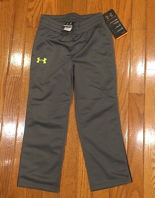 Brand New Under Armour Toddler Boys Pants All Seasons Gear Lot Size 4T