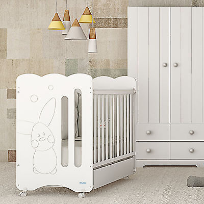 NEW Baby cot + toddler bed + mattress + made in Spain