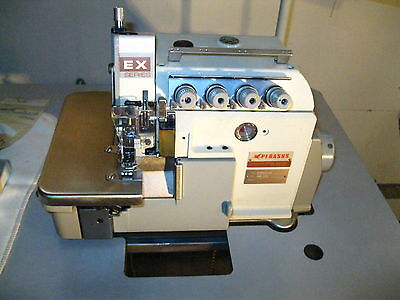 PEGASUS EX5214-04 Serger Industrial Sewing Machine Commerical Duty