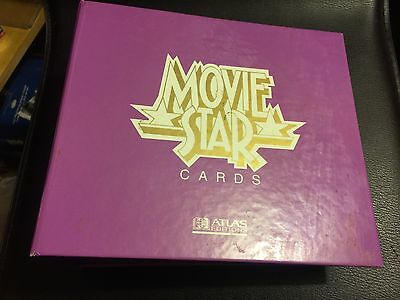 Movie Star Cards Atlas Edition 200+ Binder And 10 Dividers