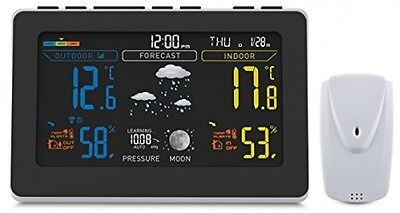 Oria Wireless Weather Station Digital Temperature Humidity Meter Thermometer