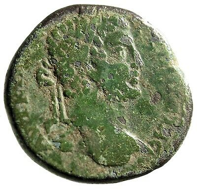 """LARGE 28mm Coin of Caracalla From Pautalia in Thrace """"Dikaiosyne (Aequitas)"""""""