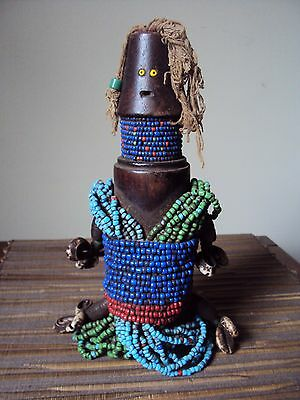 SALE - WAS $189  RARE FALI MALE FERTILITY DOLL African Carving Statue!!