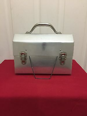 Vintage The Box Metal Lunchbox By Ciracco Made In USA