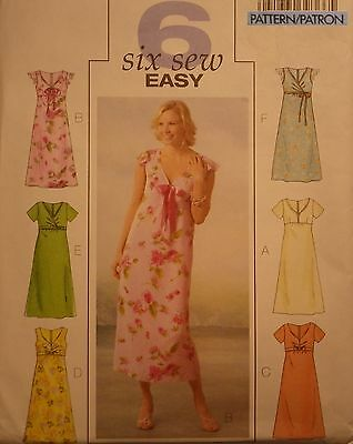 Dress Sewing Pattern Butterick # 4444 Plus Size 14-16-18-20 Uncut