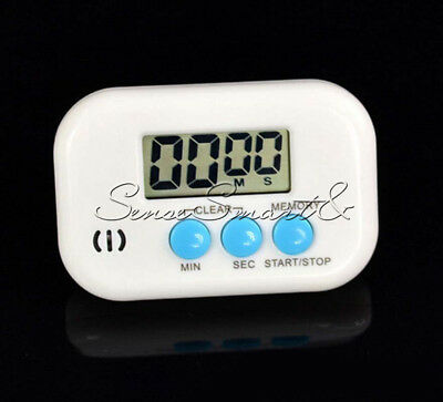 Magnetic Electronic Clock Timer Kitchen Up Count Cooking Digital LCD Down Alarm