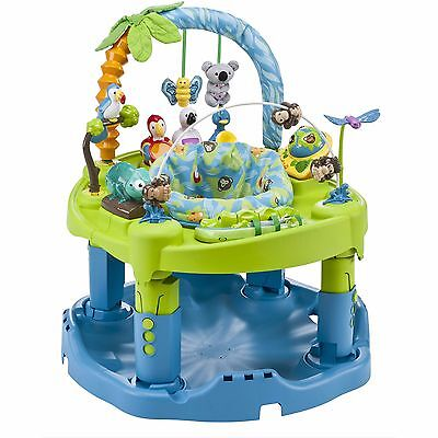 Exersaucer Toy Center Activity Rock Spin Bounce Baby Infant Boy Girl Adjustable