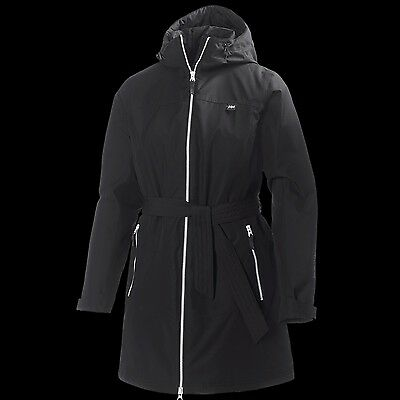 Helly Hansen HH Long Bykkle Insulated Black Women's Jacket - 62386 NWT $199