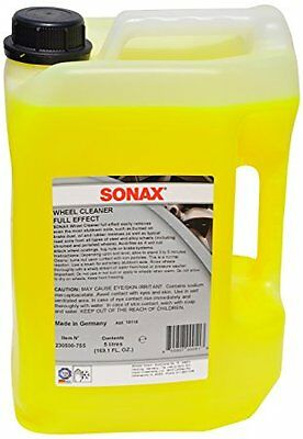 SONAX Wheel Cleaner Full Effect 5 Liter Refill 230500 BMW Porsche Ferrari Audi