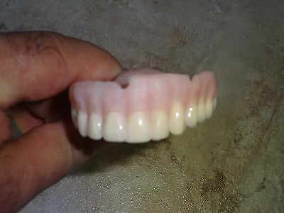 Vintage Novelty Full Denture  Upper  False Teeth