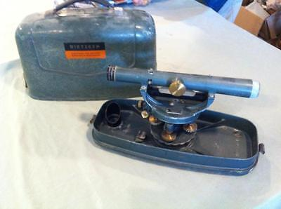 Dietzgen Transit w/ Case. Great for surveying, contactors, engineers
