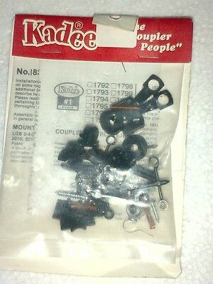 Kadee #1832 Offset Coupler (#1) G scale Replacement 832 Knuckle Coupler