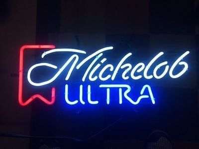 "New Vintage Michelob Ultra Logo Beer Neon Sign 20""x16"" Ship from USA"
