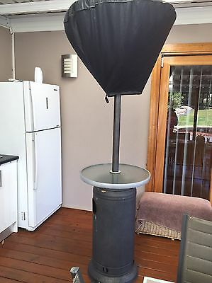 Outdoor Gas Heater With Drinks Table Great Condition
