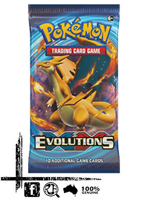 Pokemon - XY Evolutions Booster Pack. Sealed
