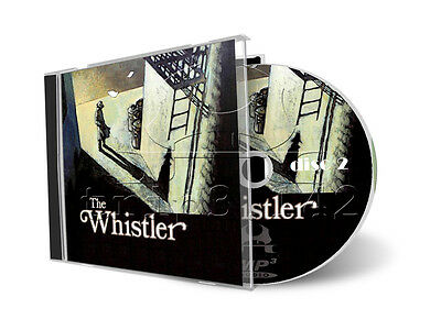 The WHISTLER - Old Time Radio (OTR) Crime / Detective / Mystery 2 x mp3 CD Set