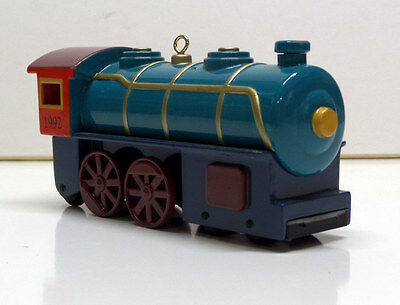 "HALLMARK KEEPSAKE ORNAMENT: ""LOCOMOTIVE"" from SKY LINE COLLECTION-#1-1992"