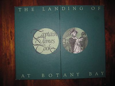 The Landing of Captain James Cook at Botany Bay £1 Banknote Vignette No 04512
