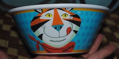 Kellogg's Frosted Flakes Tony the Tiger Cereal Bowl Vintage Style Retro NEW