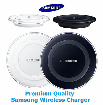 Genuine Samsung Wireless Charger QI Charging Pad Dock For Galaxy S6 S7 S7 Edge