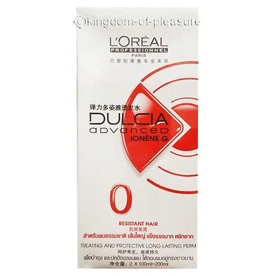 Loreal Dulcia No0 Red Resistant Hair Perm Kit Curl Homes Professional Perming