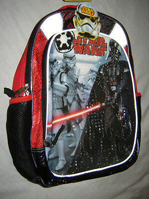Star Wars The Force Awakens School Bag Safety Reflective Best Back Cushioned