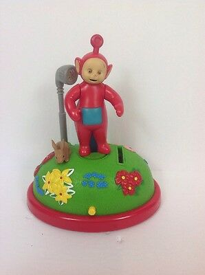 RARE Teletubbie Po MUSICAL BANK dances talks TRENDMASTERS TV character