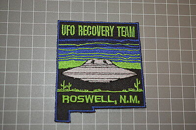 UFO Recovery Team - Roswell New Mexico Patch (B17-B)