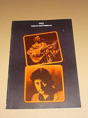 Hank Snow/Tompall Glaser 1973 UK Tour Programme + 2 Tickets