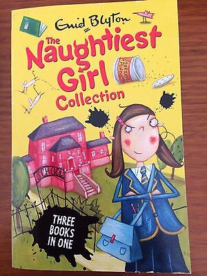 The Naughtiest Girl Collection 3 books in 1 Enid Blyton