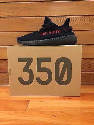 Adidas Yeezy Boost 350 V2 Black/Red CP9652 (Size 6)