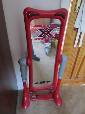 X factor TV show stand up mirror