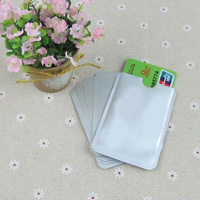 12Pc RFID Secure Credit Card Protect Envelope Shield Blocking Safe Anti Theft