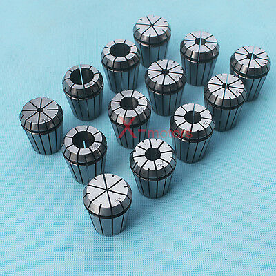 "New 13Pcs ER32 Spring Collet Set 1/16""-3/4"" CNC Super Precision Milling tool"