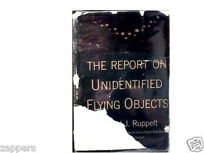 1956~The Report on Undentified Flying Objects~HEAD OF PROJECT BLUE BOOK-ruppelt