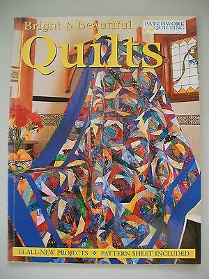 Bright & Beautiful Quilts - Craftworld Books - Quilting Pattern Book