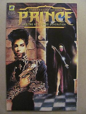 Prince and The New Power Generation Three Chains of Gold #1 Pirahna 1994 NM 9.4