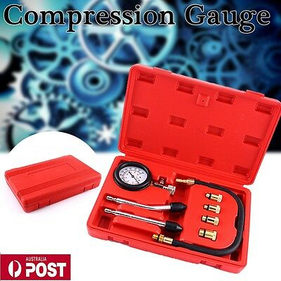 Car Cylinder Pressure Meter Diesel Engine Compression Repair Tester Testing Tool