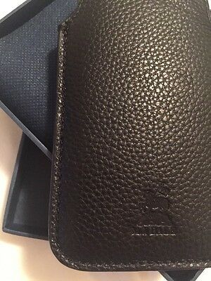 M.J. Bale Leather iPhone/Glasses case. BNWT!