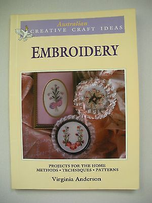 Australian Creative Craft Ideas - Embroidery - Practical Craft Book