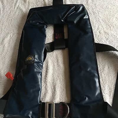 Lifejacket auto inflate, manual harness, sailing , water sports