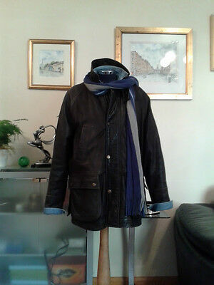 Guinness Leather 3/4 Length Coat' L/XL ~ To fit Chest 42/44