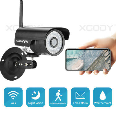 WIFI HD 720P outdoor wireless security IP Camera IR Night Vision Network SD card