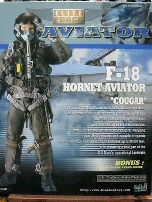 "BBI ELITE FORCE AVIATOR HORNET ""COUGAR"" 1/6 12"" scala DID DRAGON HOT TOYS"