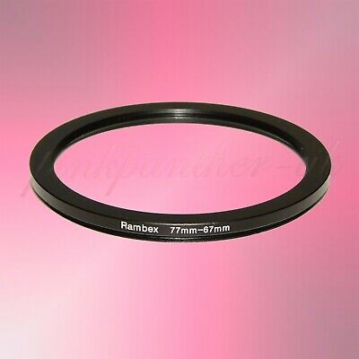 77mm-67mm 77mm to 67mm 77-67 mm Filter Ring Adapter - Step Down / Stepping - 1st