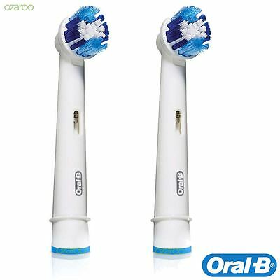 Genuine Oral-B Precision Clean Electric Toothbrush Replacement Brush Head 2 Pack